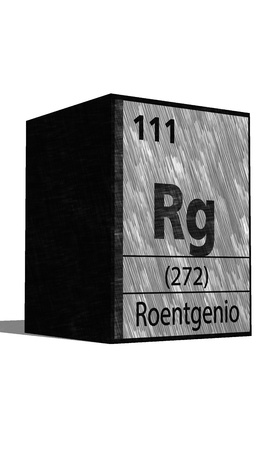 substances: Rg Chemical element of the periodic table with symbol