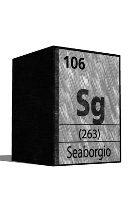 sg: Sg chemical element of the periodic table with symbol