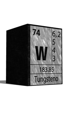 isotopes: W chemical element of the periodic table with symbol