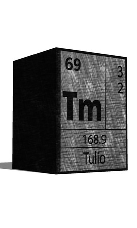 isotopes: Tm chemical element of the periodic table with symbol