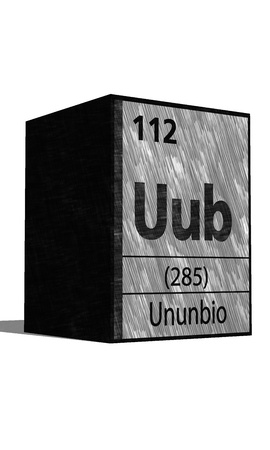 protons: Uub chemical element of the periodic table with symbol