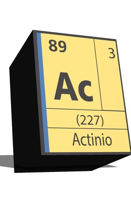isotopes: Ac symbol chemical element of the periodic table