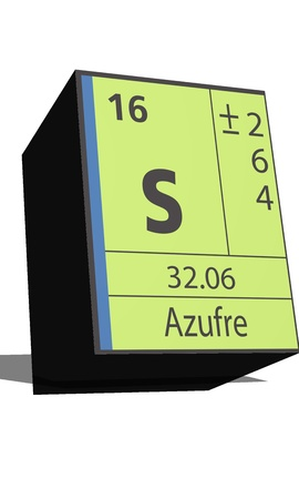 isotopes: S symbol chemical element of the periodic table