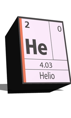 substances: He symbol chemical element of the periodic table