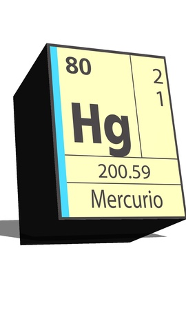 neutrons: Hg symbol chemical element of the periodic table