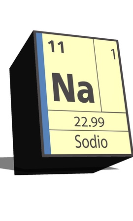 isotopes: Na symbol chemical element of the periodic table