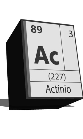 protons: Chemical element of the periodic table  Symbol Ac Illustration