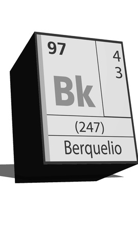 isotopes: Chemical element of the periodic table  Symbol Bk