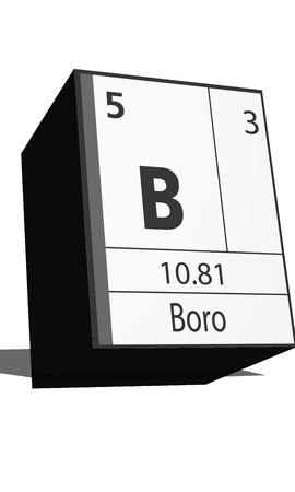 isotopes: Chemical element of the periodic table  Symbol B