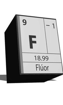 isotopes: Chemical element of the periodic table  Symbol F