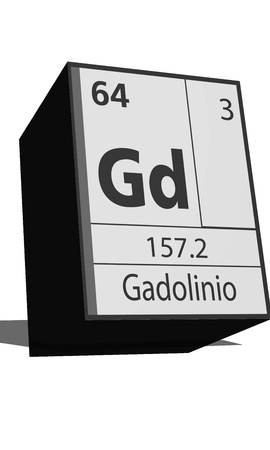 protons: Chemical element of the periodic table  Symbol Gd Illustration