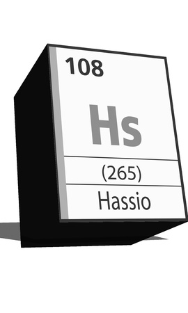 isotopes: Chemical element of the periodic table  Symbol Hs