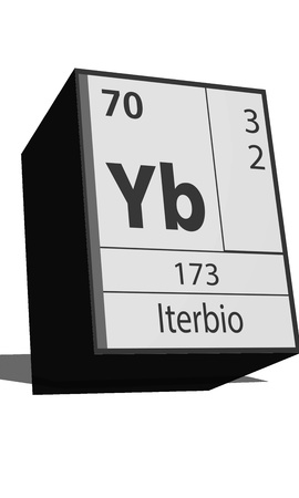 Chemical element of the periodic table  Symbol Yb