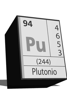dissolved: Chemical element of the periodic table  Symbol Pu Illustration