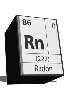 Chemical element of the periodic table  Symbol Rn