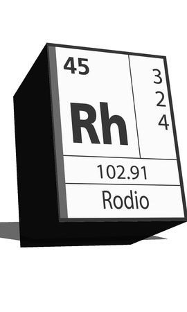 protons: Chemical element of the periodic table  Symbol Rh