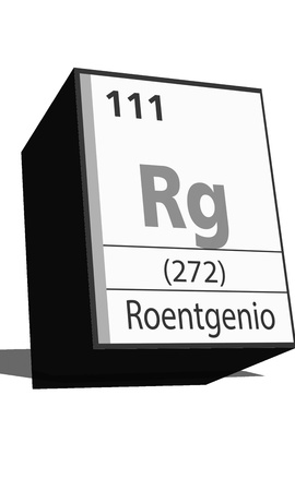 dissolved: Chemical element of the periodic table  Symbol Rg