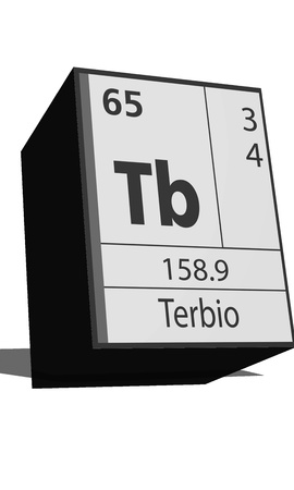 tb: Chemical element of the periodic table  Symbol Tb
