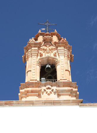 Santo Niño de Atocha, Church. Plateros Zacatecas Stock Photo