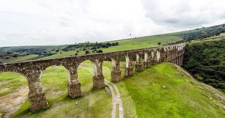 Arcos del Sitio, Tepotzotlan, Mexico.