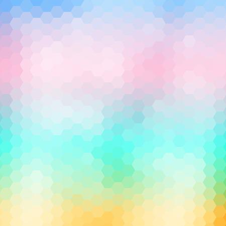 Souple de couleur abstraite géométrique mosaïque fond, illustration vectorielle Vecteurs