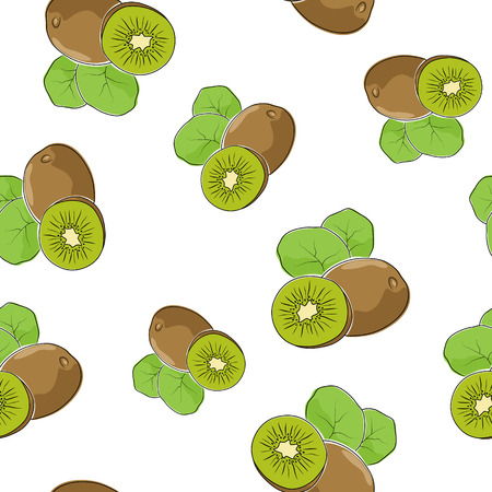 kiwi fruta: Sin patrón de kiwi