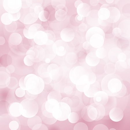 brilliancy: Pink Soft  Bright Abstract Bokeh Background ,Soft Glow of the Sun , Defocused Lights, Vector Illustration Illustration