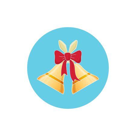 jingle bells: Colorful Icon Holiday Jingle Bells