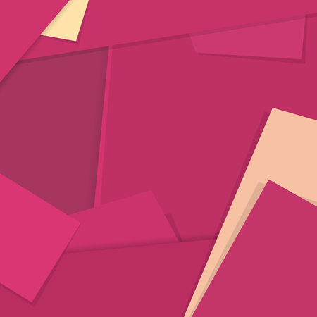 material: Material Design Background, Trendy Bright Pink Background in Material Design Style, Background Digital Design,  Vector Illustration