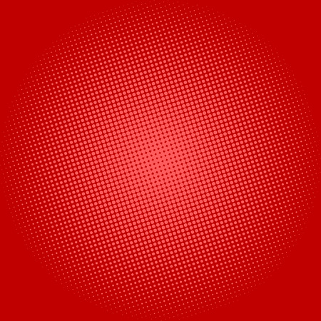 red abstract backgrounds: Pop Art Background, Dots on Red Background,Halftone Background, Retro Style, Vector Illustration Illustration