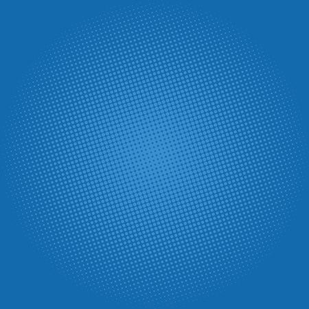 gradation art: Pop Art Background, Dots on Dark Blue Background,Halftone Background, Retro Style, Vector Illustration