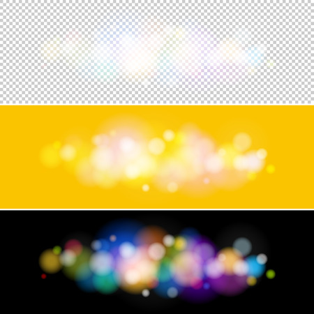 brilliancy: Soft Bright Abstract Bokeh Background Illustration