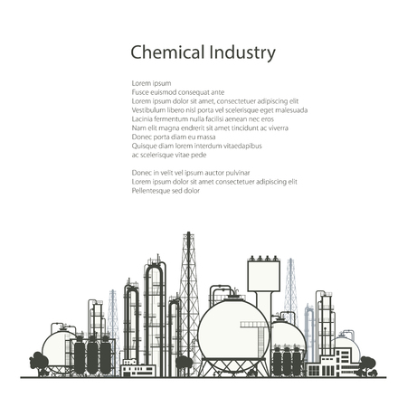 chemical plant: Industrial Chemical Plant