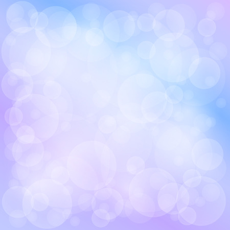 brilliancy: Lilac Blue Soft Bright Abstract Bokeh Background