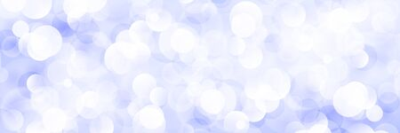 Purple Soft Bright Abstract Bokeh Banner ,Soft Glow of the Sun , Defocused Lights, Vector Illustration