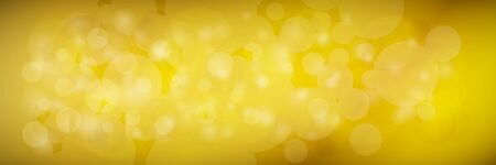 Modern abstract yellow banner with sparkles, vector illustration Иллюстрация