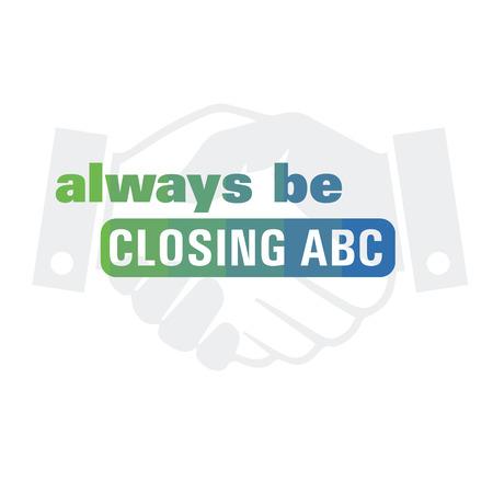 ABC 引用符は常に  イラスト・ベクター素材
