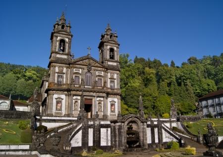 Santuario Bom Jesus do Monte, Braga, Portugal Stock Photo - 18540869
