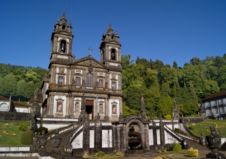 Santuario Bom Jesus do Monte, Braga, Portugal Stock Photo - 18540869