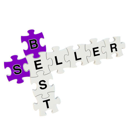 Best seller 3d puzzle on white background