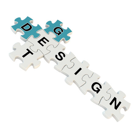 cost estimate: Get design 3d puzzle on white background