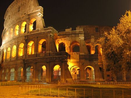 The Coliseum. Rome, Italy