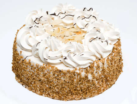 cake on neutral gray