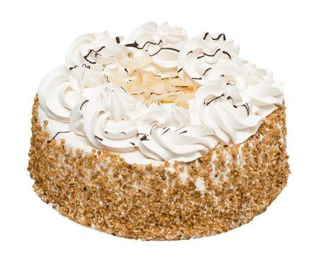 Kuchen isoliert auf wei�em