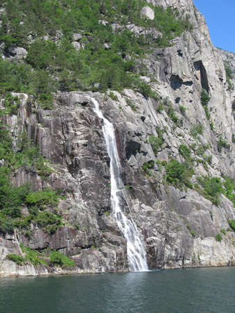 der Wasserfall, der f�llt die open water
