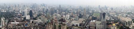 bangkok aus der Vogelperspektive