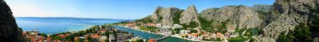 Croatia beautiful panoramic landscape photo Stock Photo