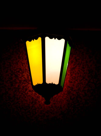 plainness: bright lantern in the night
