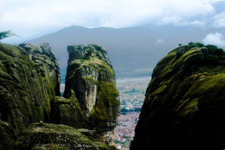 kalabaka: Meteora Cliffs