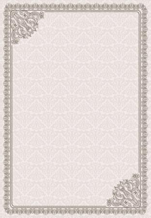 vintage blank